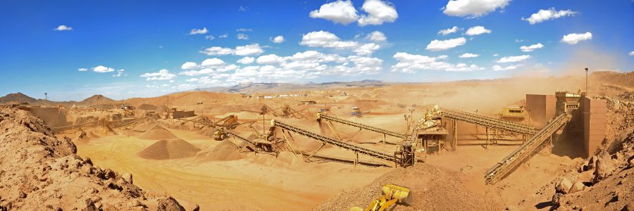 Stripping and mining of iron ore mining operations in Jalalabad