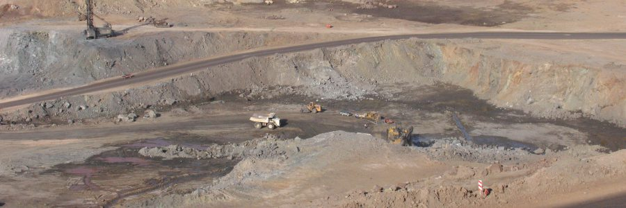 Stripping and mining operations of Gol Gohar Iron Ore Mine 1