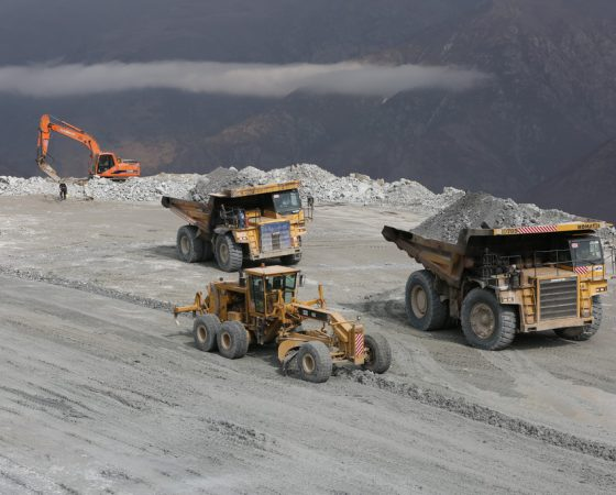 Stripping and extraction of copper mining operations Sungun