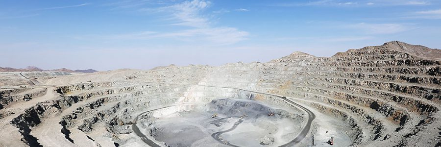 Stripping and mining of iron ore mining operations Chah Gaz