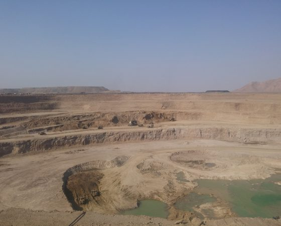 Stripping and mining operations of Gol Gohar Iron Ore Mine 5