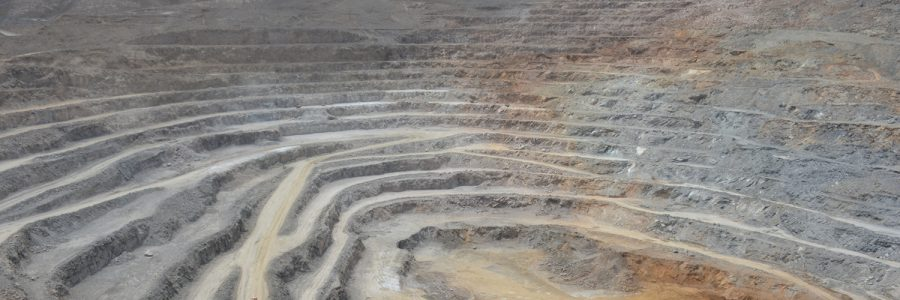 Stripping and mining lead and zinc mining operations in anguran