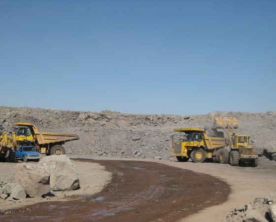 Stripping and mining copper mining operations in sarcheshme