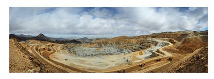 انجام عملیات باطله برداری و استخراج از معدن مس میدوک
