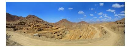 انجام عملیات باطله برداری و استخراج از معدن سنگ آهن جلال آباد