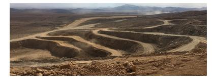 عملیات و باطله برداری معدن سنگ آهن آریا جنوب زرند