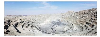 عملیات استخراج و باطله برداری معدن سنگ آهن چاه گز