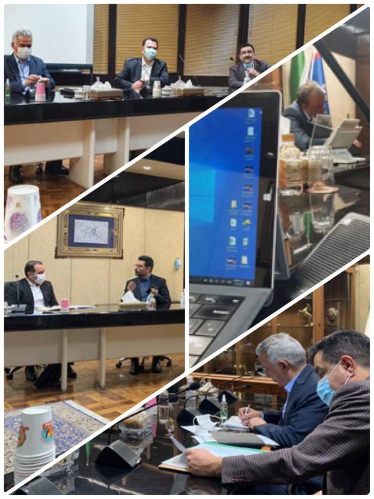 نشست مشورتی رئیس خانه معدن ایران و نمایندگان کمیته های #پیمانکاران و #ماشین آلات معدنی خانه معدن ایران با دکتر #رزم_حسینی،وزیر محترم صمت